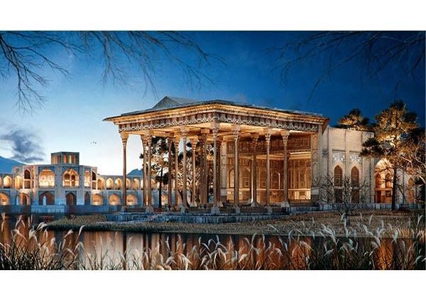 آیینه در بناهای تاریخی