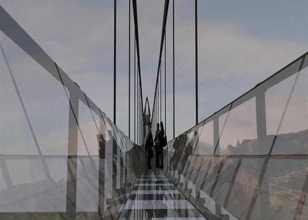 پل شیشه ای معلق هیر