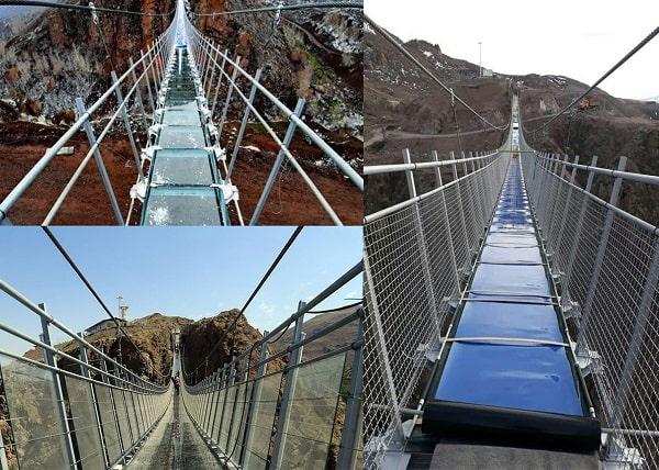 پل شیشه ای اردبیل