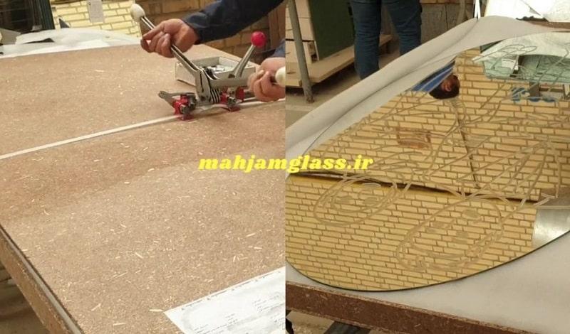 ساخت جعبه بسته بندی ماکت آینه ای عروس و داماد