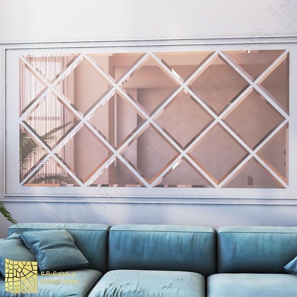 آینه آسان نصب طرح پنجره