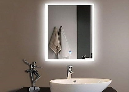 What is a backlight mirror