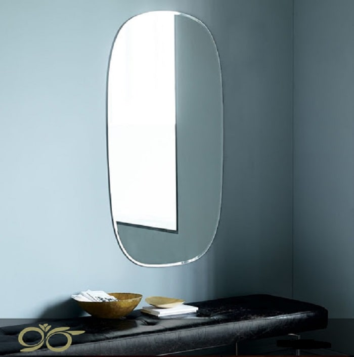 آینه بک لایت ساده