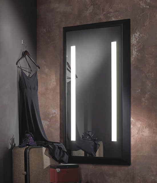 نورپردازی پشت آینه