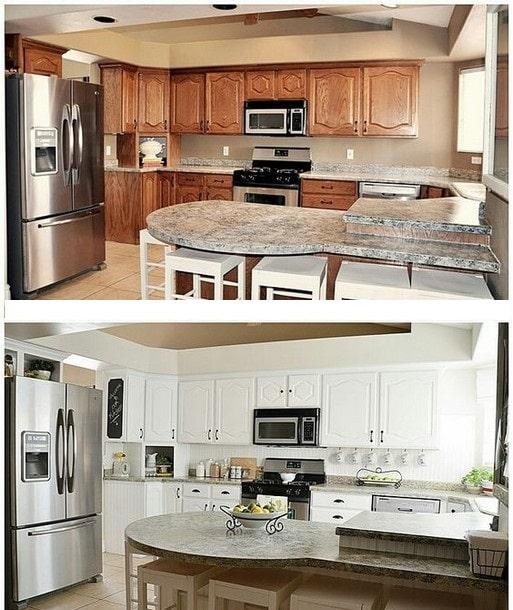 تغییر دکور آشپزخانه