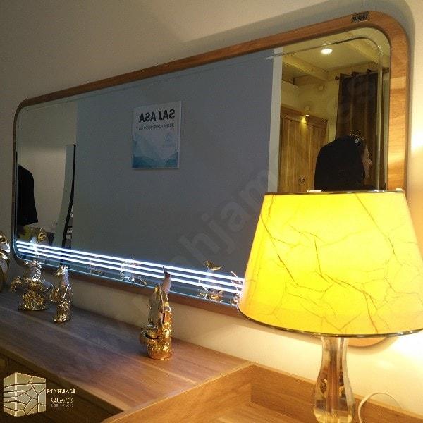 آینه میز آرایش کد 12017