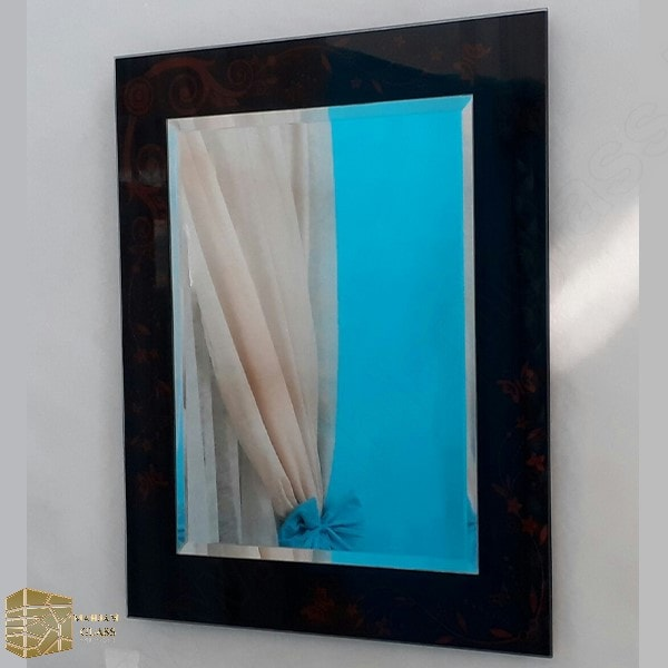 آینه روشویی مه جام شیشه کد 16019