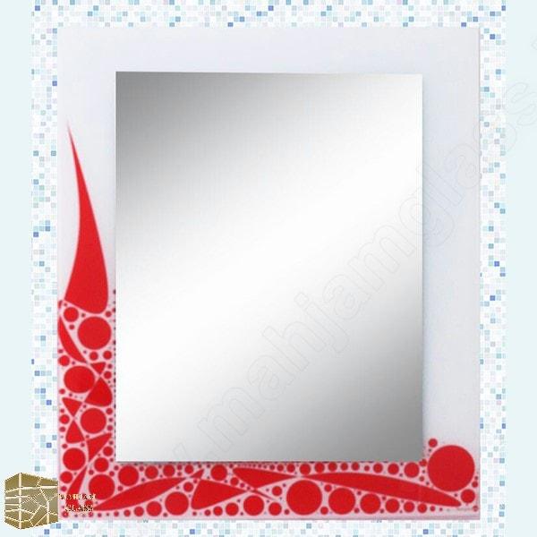 آینه روشویی مه جام شیشه کد 16017