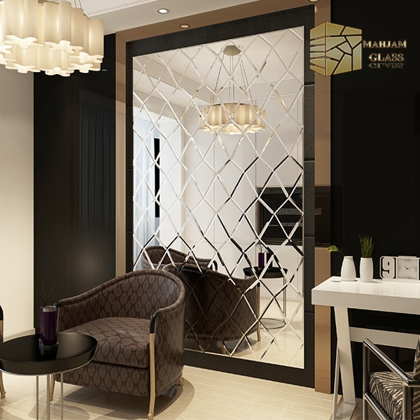 Diamond design tile